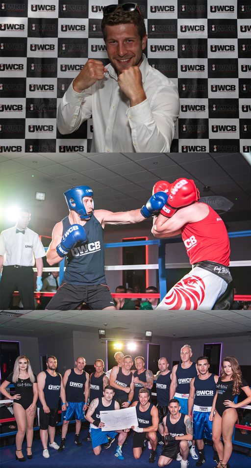 Josh Windatt Charity Boxing UWCB WorldBake